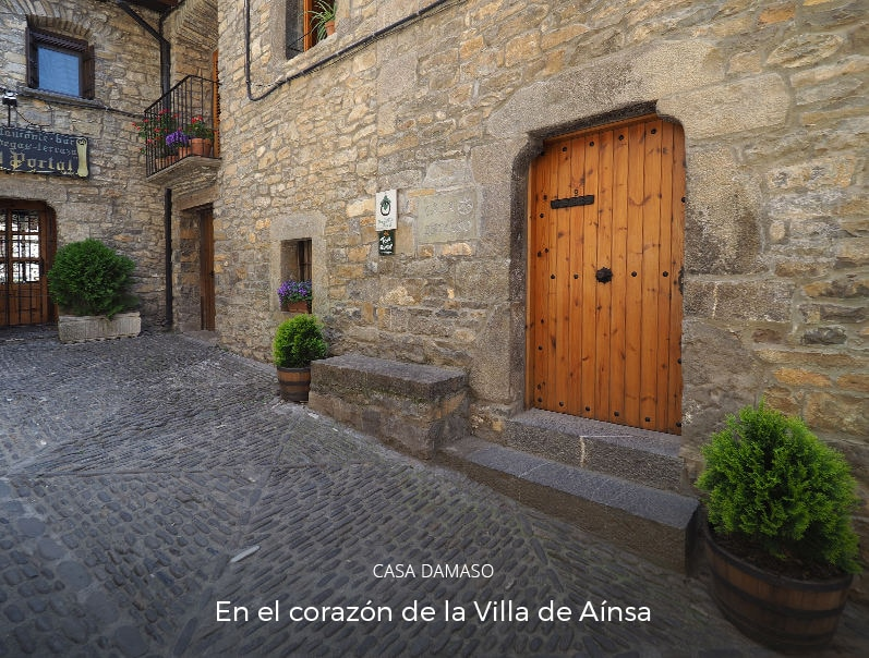 casa rural damaso, ainsa