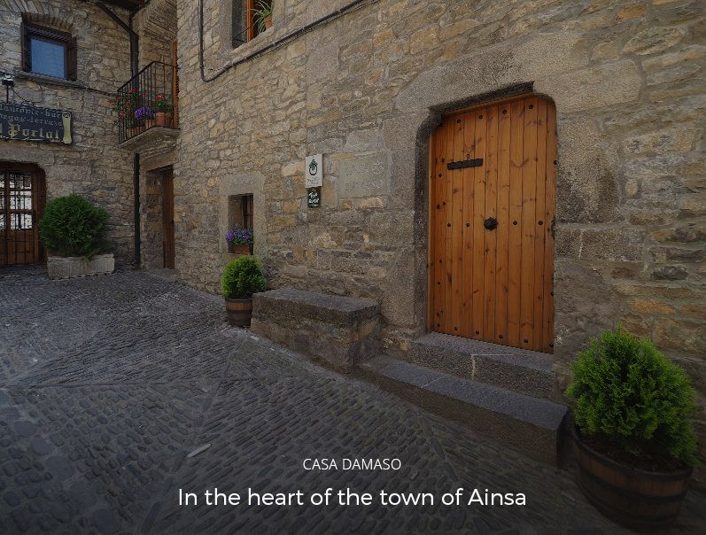 Rural tourism holiday let in Ainsa